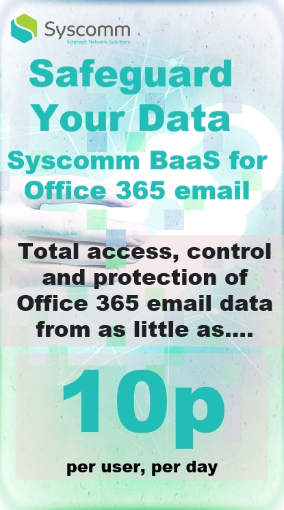 Office 365 Backup Solutions for Business - Syscomm Backup as