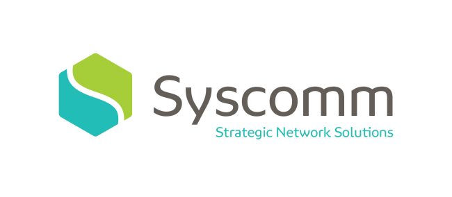 Syscomm logo network specialists