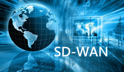 Picture of a globe with the words SD-WAN beside it.  Promting the power of a SD-WAN network and how it can work with an MPLS network